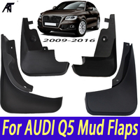 Mudguards 4pcs Black Top Quality Fender Mud Flaps Splash Guard For AUDI Q5 LFD 400 007