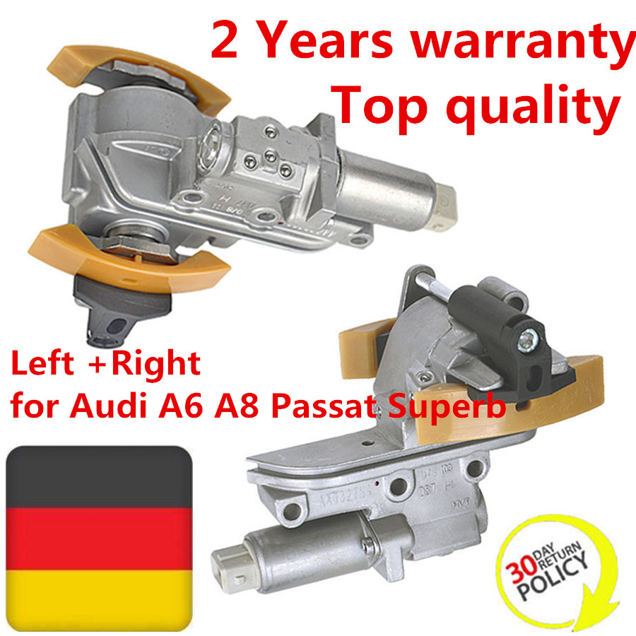 078109087C 078109088H 078109088C 078109088F Timing Chain Tensioner Left +Right for Audi A6 A8 Passat Superb