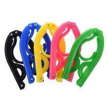 5pcs Clothing Hangers Portable Folding Plastic for Travel Camping open air plastic hangers 5pcs