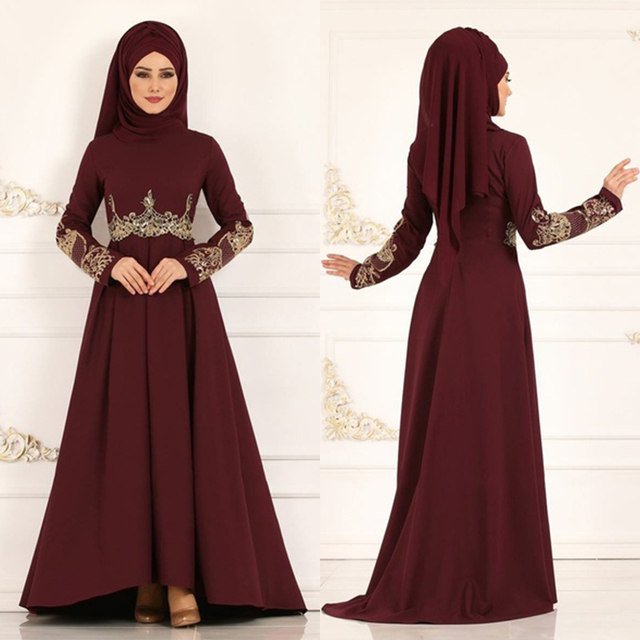 New Fashion elegant Turkish Women dress for all times and celebrations