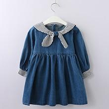 Menoea Children Clothing Suits 19 Autumn Fashion Style Girl Cowboy Long-Sleeve Mesh Dress Design For 3-8Y Kids Girls Sets 12