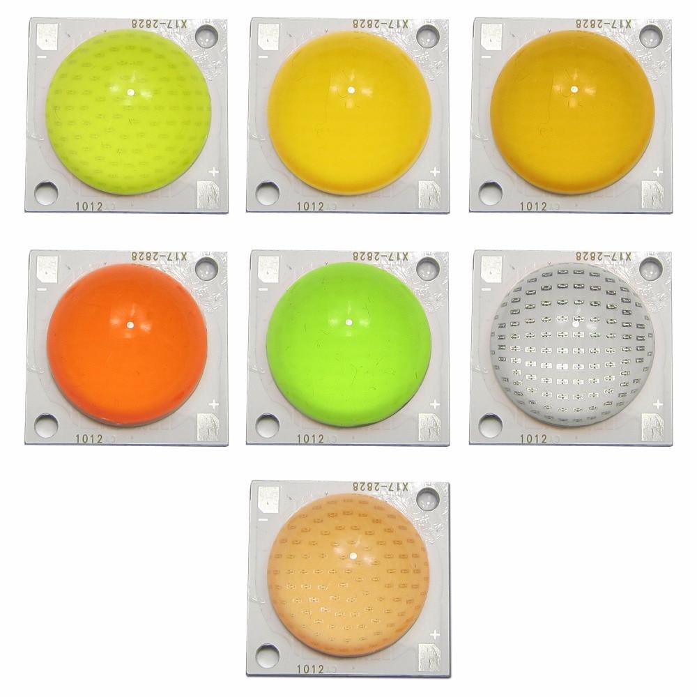 1 Unids 50 W 5500lm Moldeo Tapa Flip Chip Cob Led Diodos Backlight Smd 2828 15w 3v Espectro Lleno Blanco Caliente Rosa Azul Verde 23mm Zona De Luz