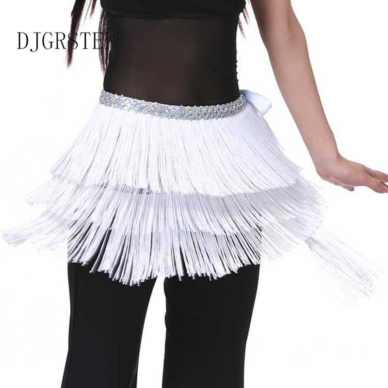 3f14474cc Aliexpress.com : Buy DJGRSTER Belly Dance Belt 3 Layers Fringe Tassel Belly  Dance Waist Belt Chain Sequins Hip Scarf Women's Belly Waistband Skirt from  ...