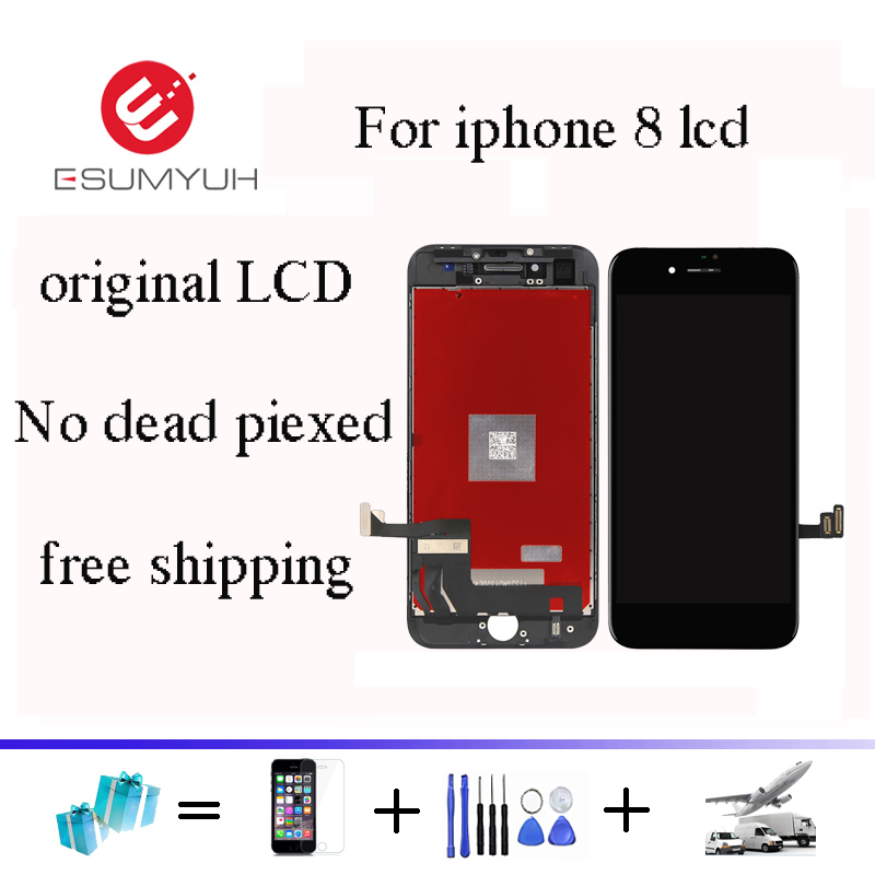 100% brand new For OEM 4.7 inch For iPhone 8 LCD Display Touch Screen With Digitizer Replacement Assembly Parts DHL shipping100% brand new For OEM 4.7 inch For iPhone 8 LCD Display Touch Screen With Digitizer Replacement Assembly Parts DHL shipping