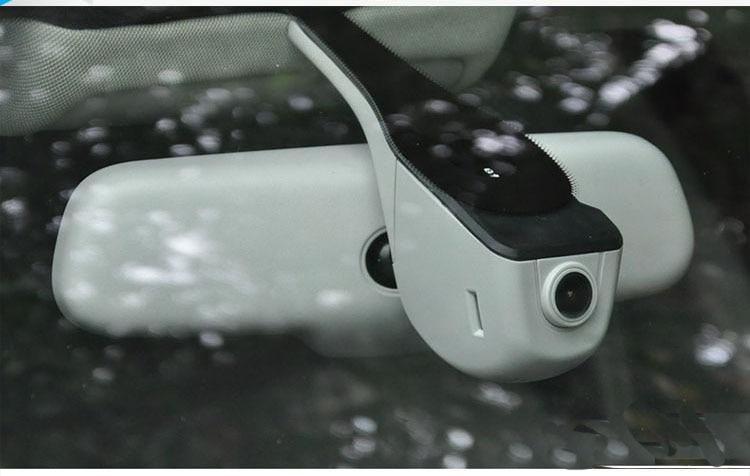 Car DVR Camera Video Recorder WiFi APP Novatek 96655 IMX 322 Dashcam For 2016 Audi A3 Sedan/Q7/A4L/A6(2017) junsun wifi car dvr camera video recorder registrator novatek 96655 imx 322 full hd 1080p dash cam for volkswagen golf 7 2015 page 3