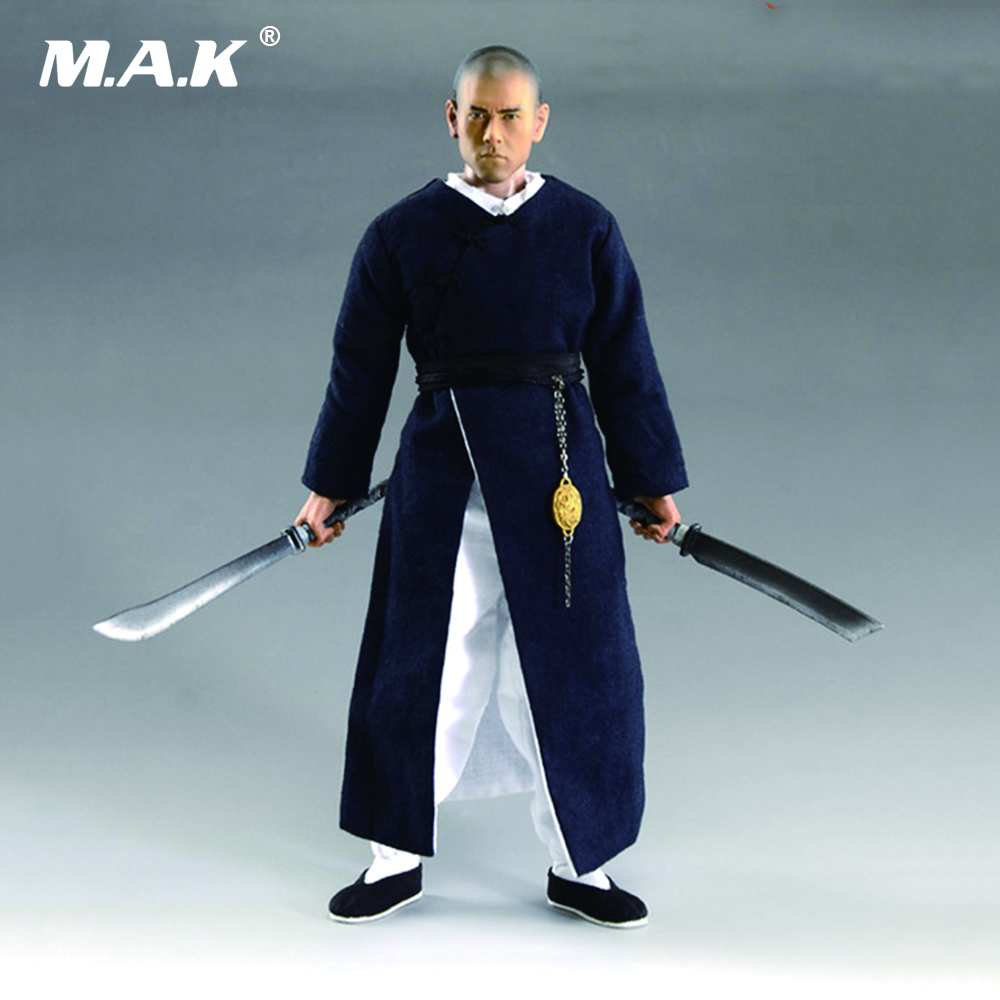 1/6 Scale 12 Inches The Rise of the Legend Wong Fei-hung Full Set Action Figures with Body Two Heads Clothes Accessories 1 6 scale the game of death bruce lee head sculpt and kungfu clothes for 12 inches figures bodies