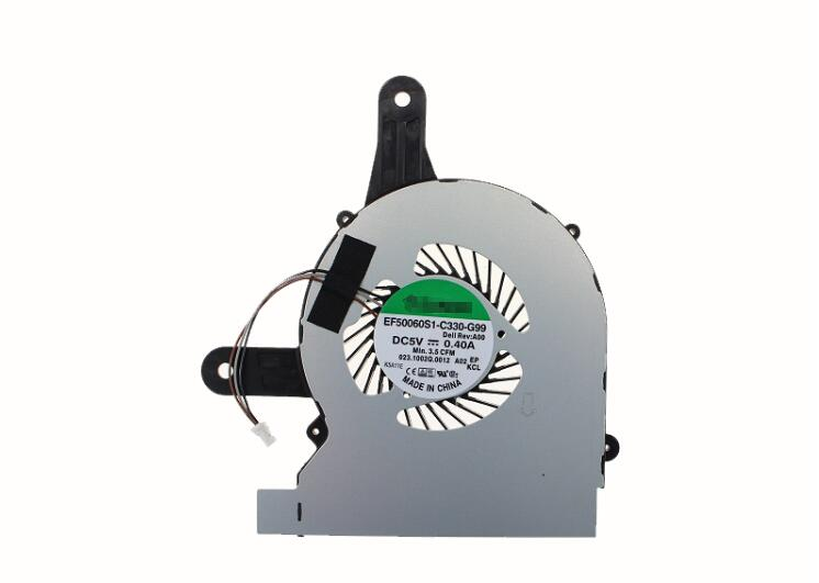 New For Dell Inspiron 14 3452 3451 3451 For SUNON EF5006S1-C330-G99 023.1002Q.0012 DC5V 0.40A 3Pin CPU Cooling Fan