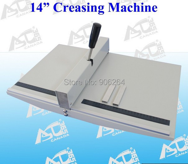 Brand New Heavy Duty All Metal Creasing Scoring Machine 14In 360MM A3 Size Scorer Creaser ys 138no nc ansi standard heavy duty electric strike size 124 x 32 x 33 mm