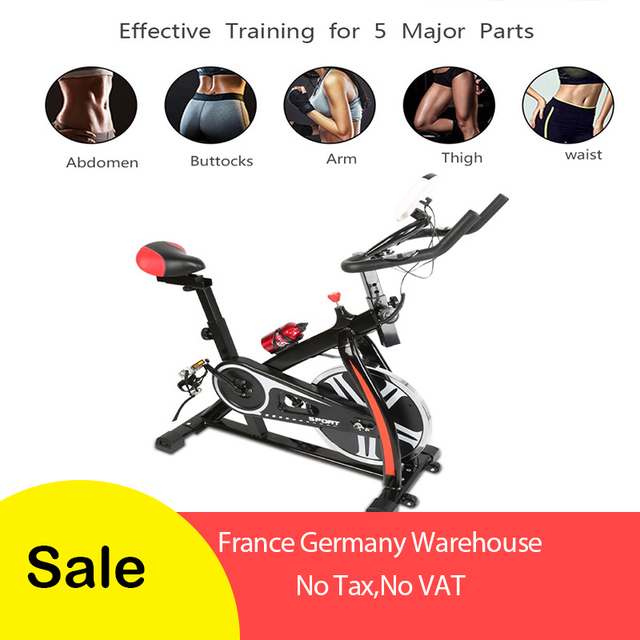 Home spinning bike Ultra-quiet exercise bike Indoor exercise bike Bicycle fitness equipment
