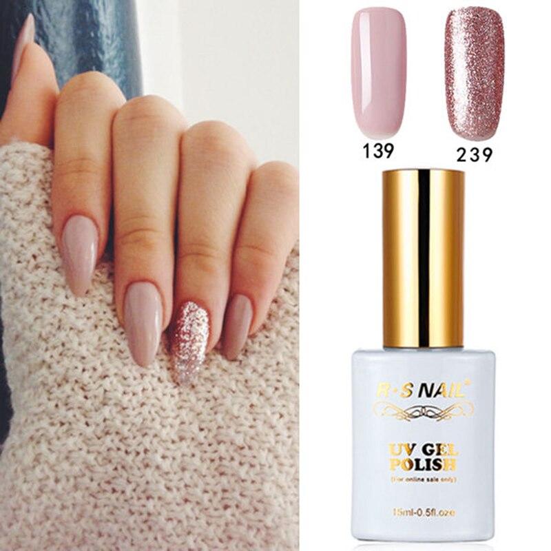 Rs Nail: RS Gel Nail Polish Beauty Nail Art No.139+239 Nail Gel LED