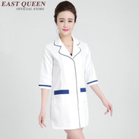 Medical scrubs women hospital uniforms woman 2018 hospital nurse uniform female uniforms for nurses white AA1090