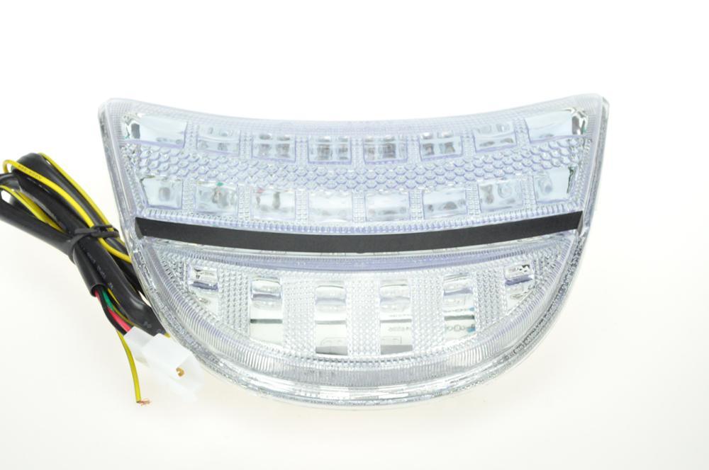 Светодиодный задний фонарь для HONDA CBR 954RR 02-03 - Цвет: Прозрачный
