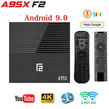 Android tv box A95XF2 Amlogic S905X2 4GB 64GB 4K Smart Box 2.4G&5G Dual WIFI Bluetooth 4.2 USB3.0 Media Player Google Play Store - DISCOUNT ITEM  44 OFF Consumer Electronics