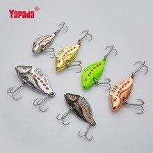 YAPADA VIB 305 Six Point 10g/15g/20g/25g Treble HOOK 40mm/46mm/50mm/53mm Metal VIB Multicolor Fishing Lures