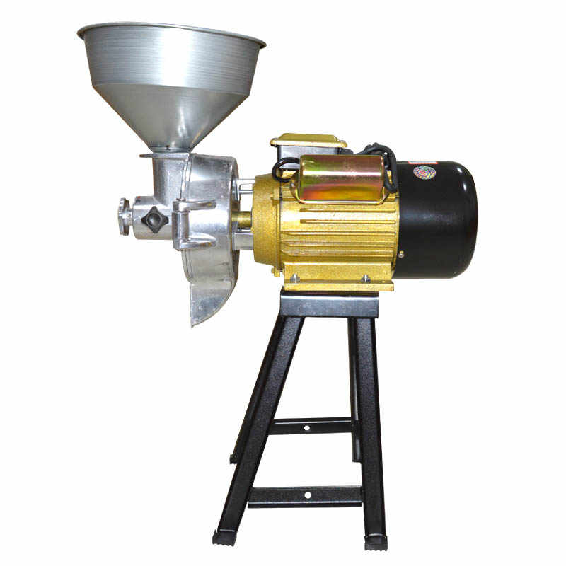 commercial Dry wet peanut butter machine maker 3500W Grain mill grinder for beans tofu sesame chili sauce corn flour Refiner hot