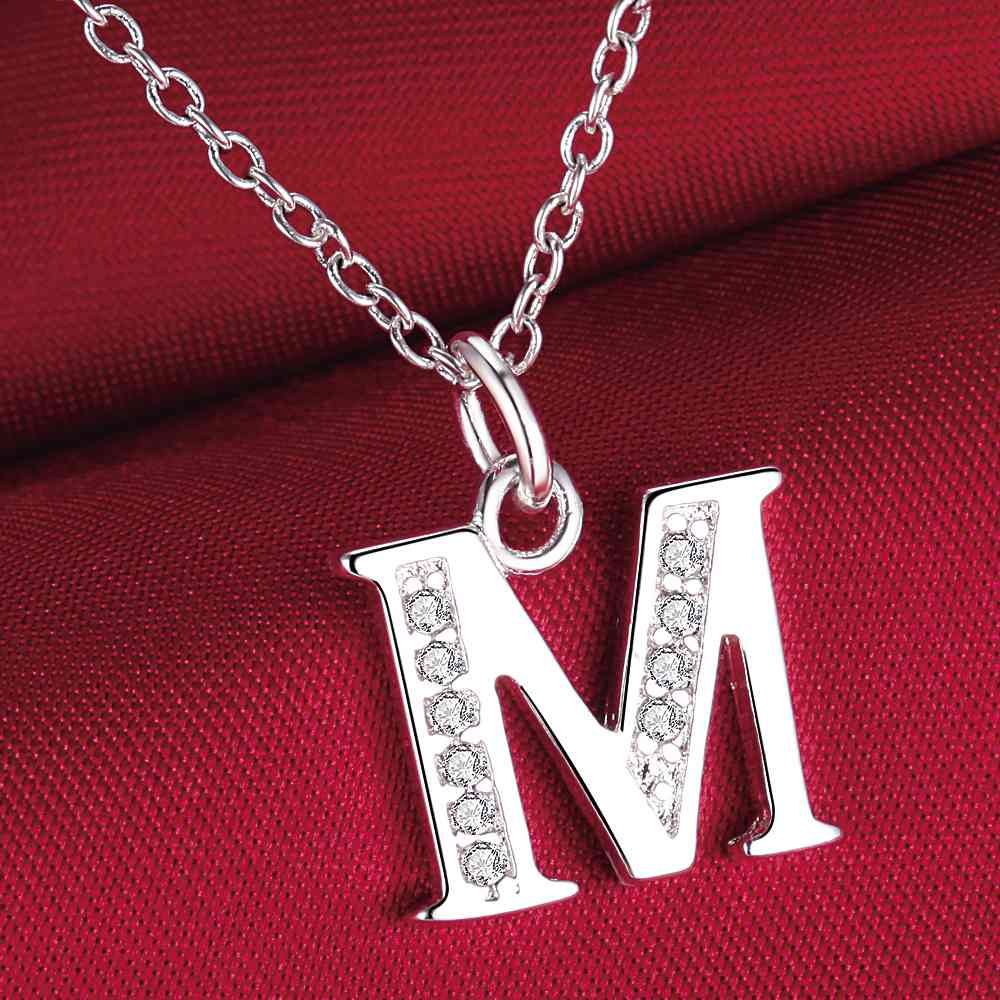 Compare Prices on Necklace Letter M- Online Shopping/Buy Low Price ...
