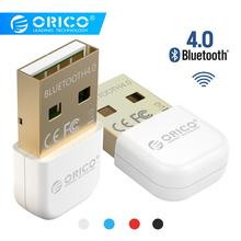 ORICO Wireless USB Bluetooth Adapter 4.0 Bluetooth Dongle Music Sound Receiver Adapter Bluetooth Transmitter for Computer PC