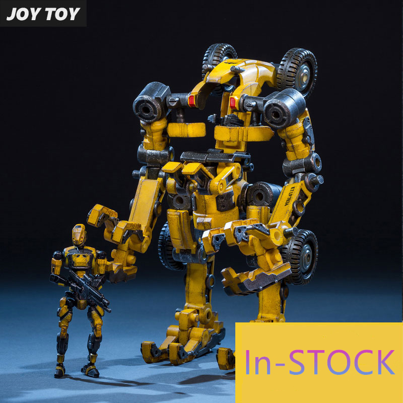 все цены на JOY TOY 1:25 action robot figures Mecha model TIEKUI Series TK02 Engineering Variant Mecha ,Movable Mecha Free shipping RE016 онлайн