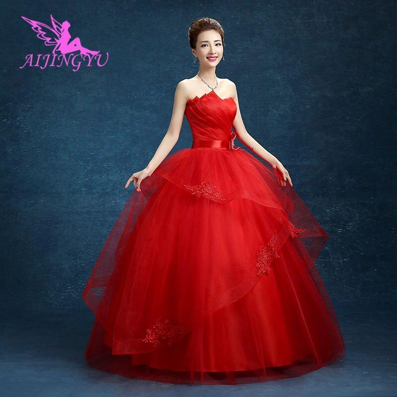 AIJINGYU dresses gowns long bride dress wedding belt WK353