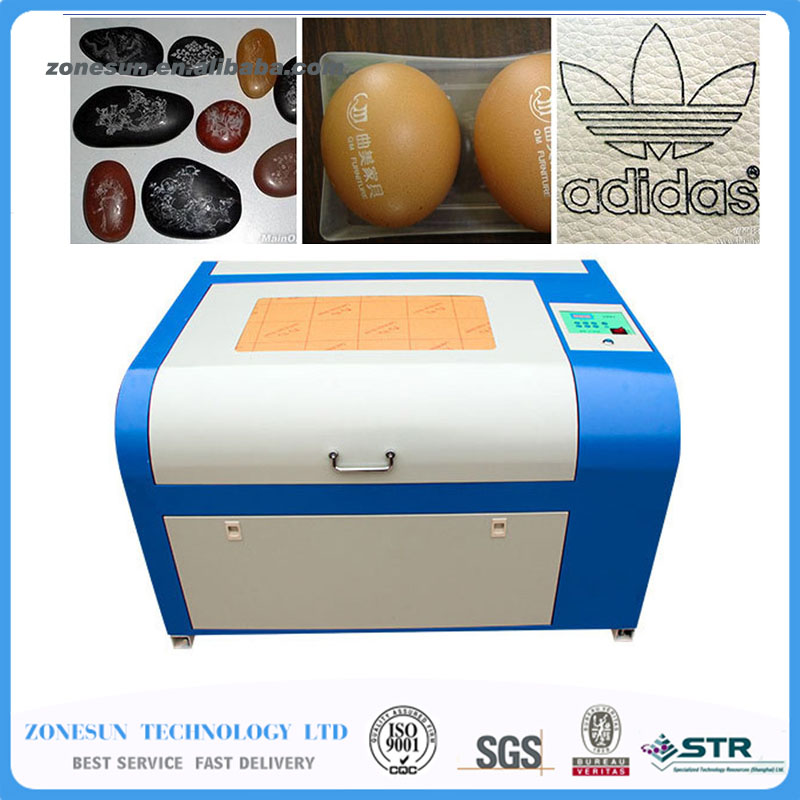 110/220V 80W 400*600mm Mini CO2 Laser Engraver Engraving Cutting Machine 4060 Laser with USB Support zonesun 110 220v 50w 400 600mm mini co2 laser engraver engraving cutting machine 4060 laser with usb support