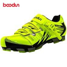 BOODUN Men Mountain Bike Shoes Vtt Cycling Sneakers Breathable Zapatillas Deportivas Hombre Self Locking Zapatos Ciclismo