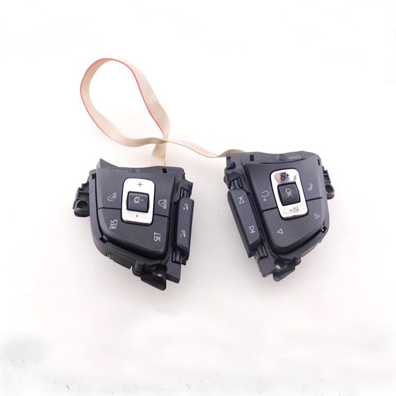 Multifunctional Steering Wheel Button Key with ACC MFSW Steer Switch for Golf 7 mk7 Sportsvan Passat B8 Variant mfsw module