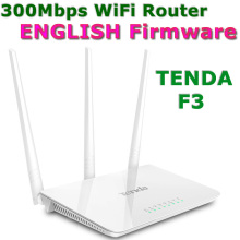 TENDA F3 300Mbps Home WiFi Router with Wireless Router Repetidor WiFi Repeater AP Network Range Expander support 802.11g/b/n(China (Mainland))