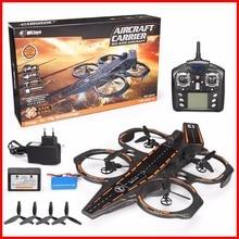 Original WLtoys Q202 Carrier Aeroamphibious 6 Axis Gyro 2.4G 4CH RC Quadcopter RTF Sea And Air RC Drone RC Toy Gifts