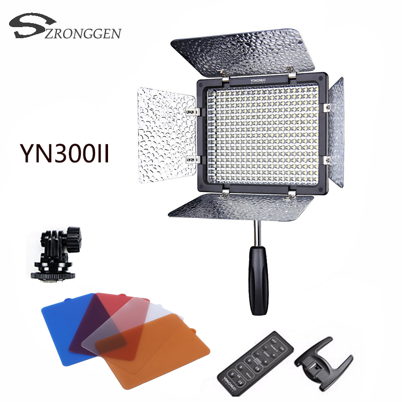 YONGNUO YN300 II YN300II LED Light Camera Video Light For Canon Nikon Samsung Photo studio light