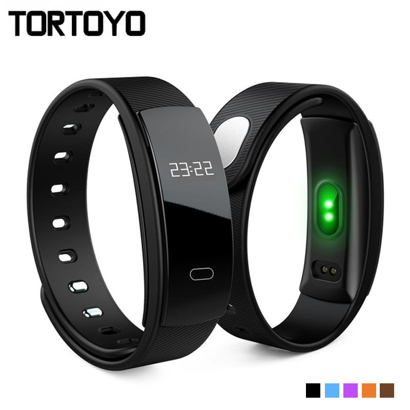 QS80 Bluetooth Smart Band Bracelet Wristband Sports Heart Rate Monitor Sedentary Reminder Sleep Tracker for iPhone Android Phone
