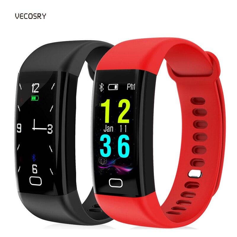 IP67 étanche podomètre Bracelet montre intelligente Fitness Tracker santé Bracelet tension artérielle pour IOS Android porter xiomi 3 bande