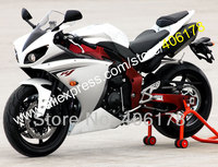 Hot Sales,For YAMAHA 2009 2010 2011 YZF R YZF R1 YZFR1 09 10 11 YZF 1000 white bodywork Motorbike fairings (Injection molding)
