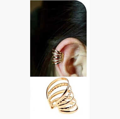 Timlee E025  Grace Fashion Punk Style Alloy Clip  Ear Cuff  Wholesale
