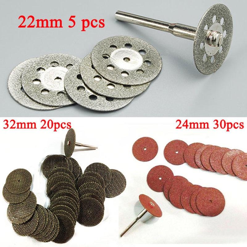 55 dremelio deimantinio pjovimo disko šlifavimo diskinio diskinio - Abrazyviniai įrankiai - Nuotrauka 1