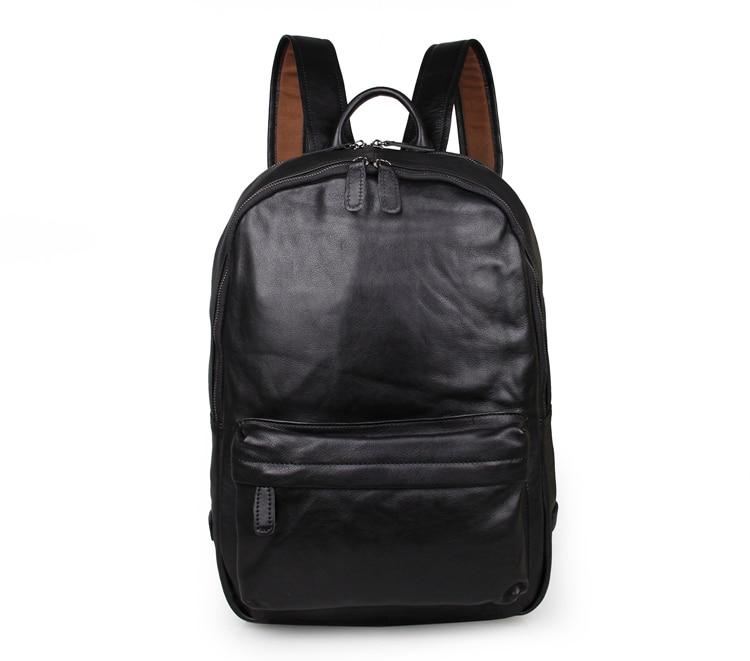 Vintage Genuine Leather Backpack Men Backpacks Fashion Male Travel font b Bags b font font b