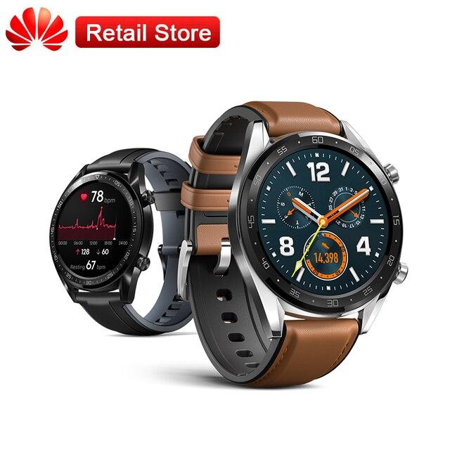 "Huawei Smartwatch GT 1.39 ""צבעוני AMOLED מסך 5ATM מקצועי עמיד למים Passometer לב קצב שינה גשש ספורט שעון"