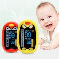 Infant Finger Pulse Oximeter Pediatric Pulsoximeter for Children Kids Portable USB Rechargeable Neonatal Oximetro Saturation