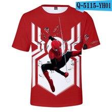 все цены на Pokemon Detective Pikachu 3D Printed Children Spider man Summer Short Sleeve T shirt 2019 NEW Streetwear kids T shirts