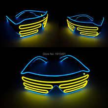 Новое поступление подарок для домашней вечеринки очки с подсветкой
