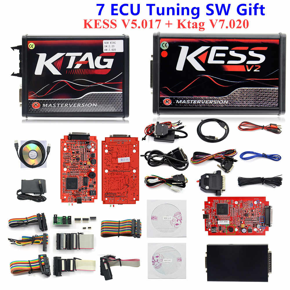 Detail Feedback Questions about 2018 new KESS V5 017 V2 23 Red PCB