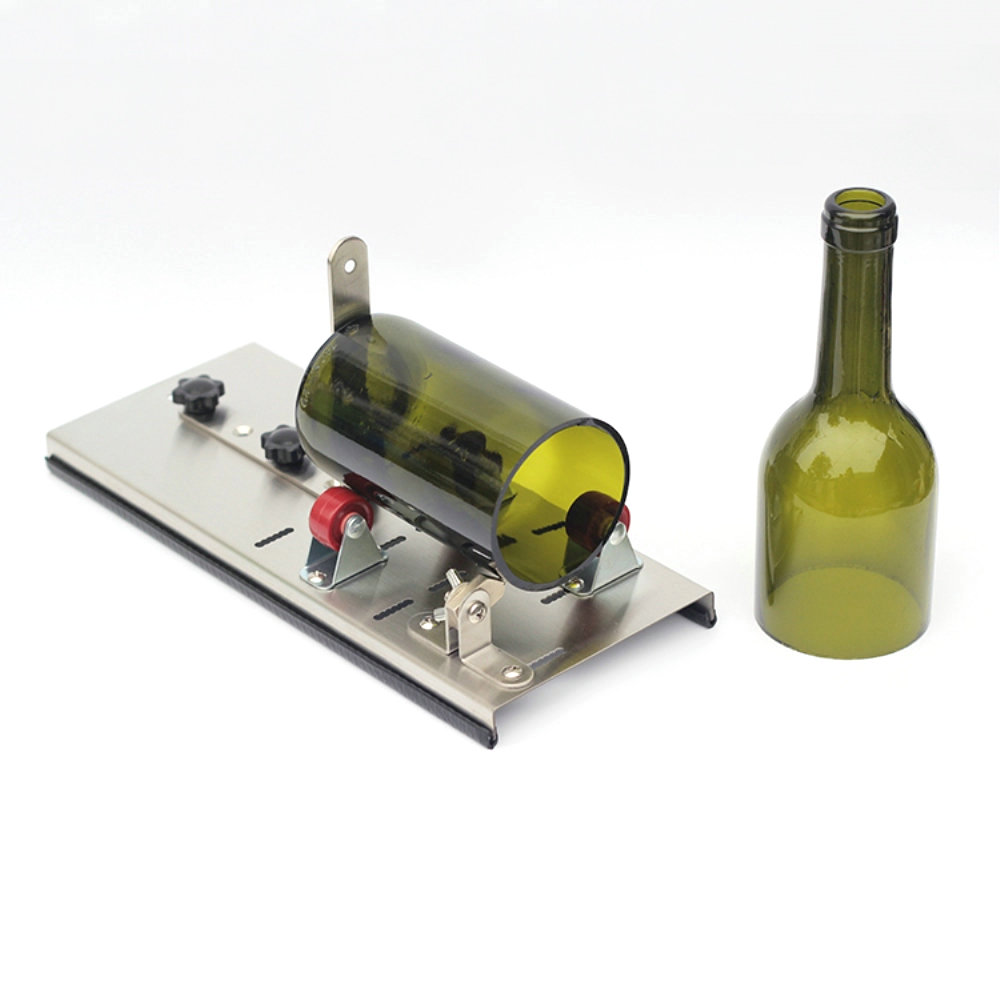 цены Bottle Cutter Glass Bottle Cutter Tool Cutter Glass Machine for Wine Beer Glass Cutting Tools Multi-function bottle opener DIY