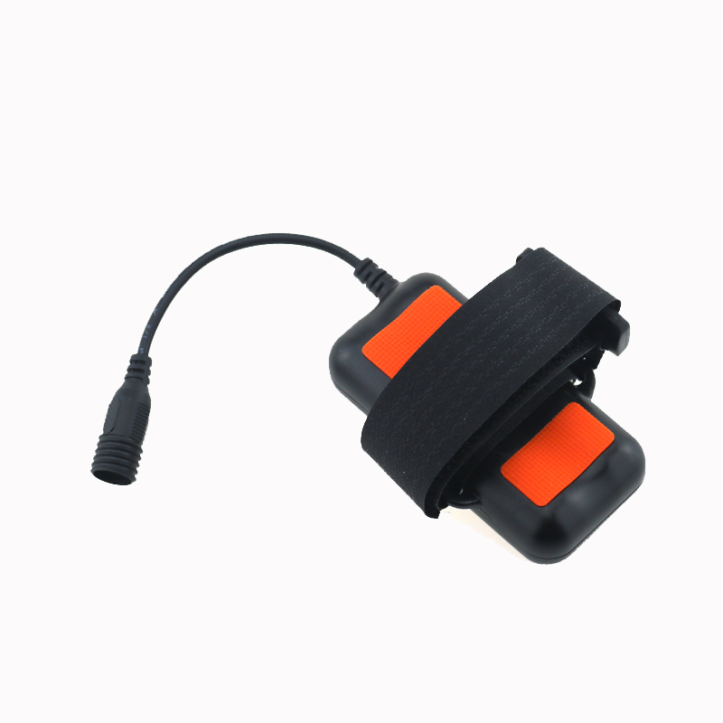 8.4V Waterproof 18650 Rechargeable Battery Pack With Screw Thread Plastic Shell 18650 3000mAh Battery Pack for Bicycle Lights