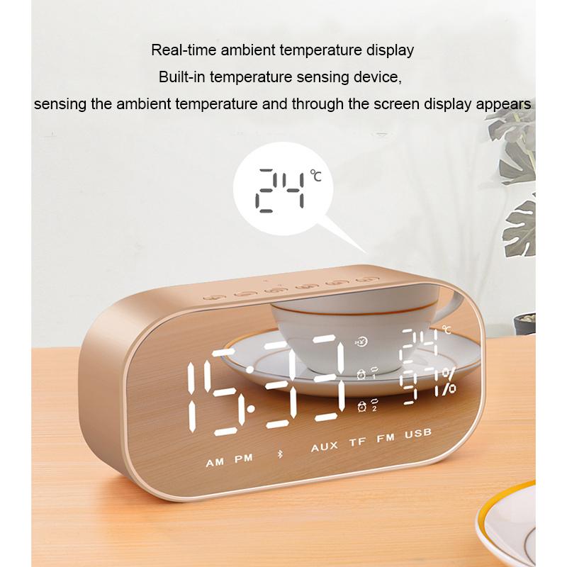 despertador Bluetooth ZWL Descuento 8