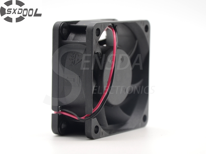 D60SH-12 SXDOOL 6025 <font><b>60</b></font>*<font><b>60</b></font>*25 <font><b>mm</b></font> DC 12V 0.18A 2Wire Cooling <font><b>Fan</b></font> image