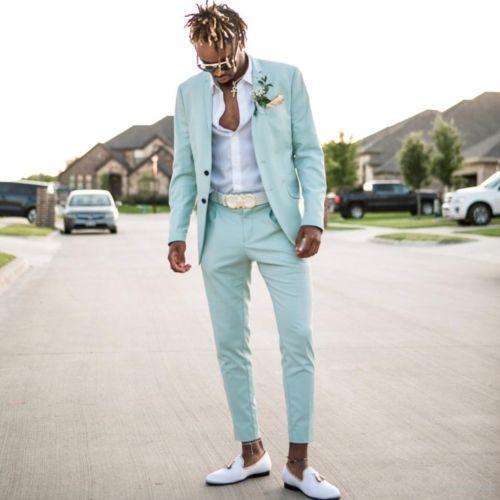2 Menthe Picture Plage De Pantalon Bal veste Pour Slim D'honneur Hommes Costume Vert Pièces Mariage custom As Smokings Fit Homme Color Costumes Garçons rW0wR0AqX