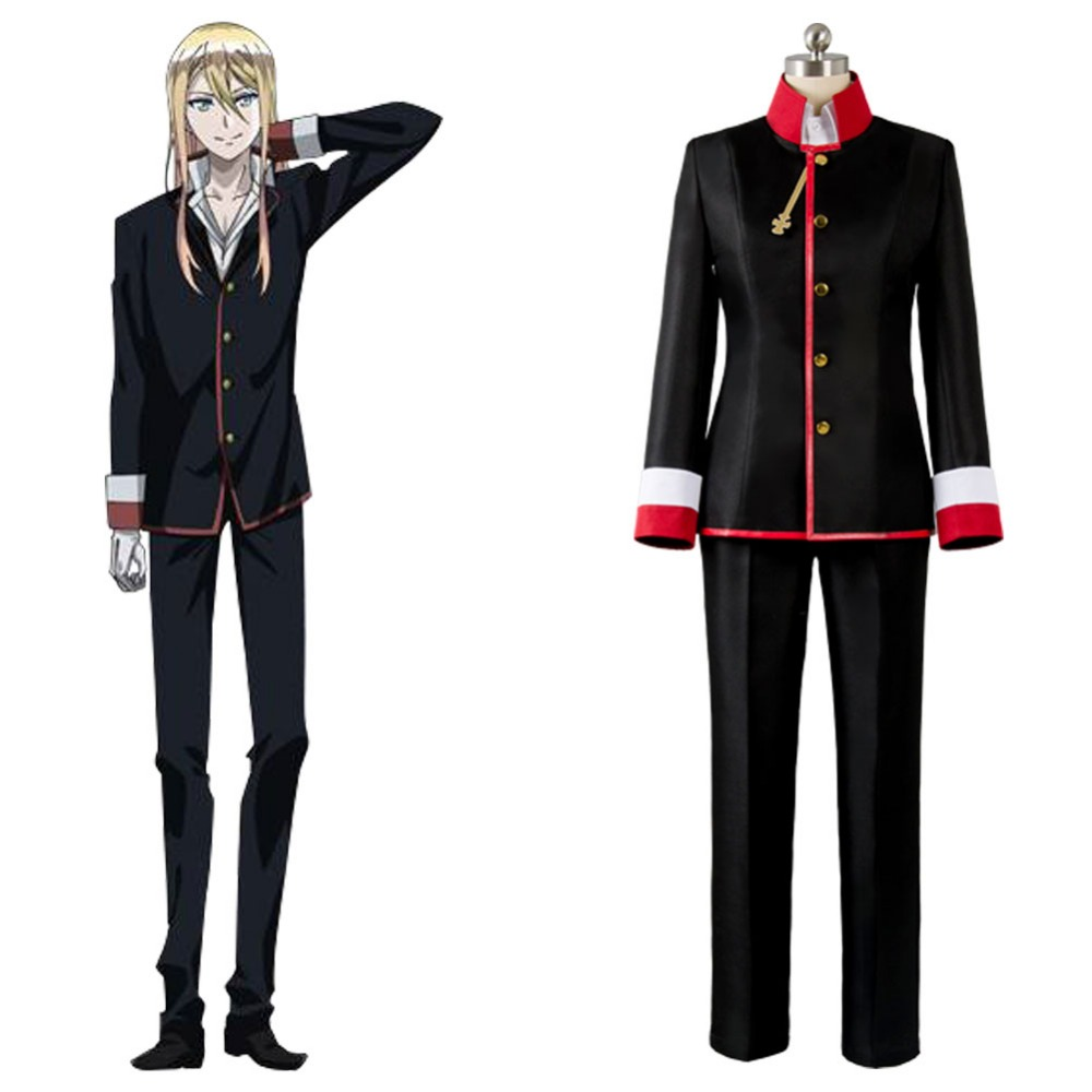 New Anime The Royal Tutor Leonhard Von Granzreich Halloween Carnival Cosplay Costume Tailor Made Free Shipping