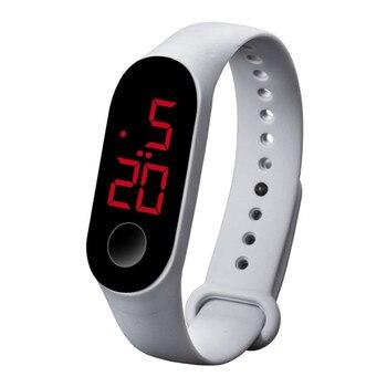 Led Ηλεκτρονικό Αθλητικό ρολόι unisex με αισθητήρα φωτεινότητας