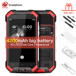 Original Blackview BV6000 4.7 Inch HD Screen Waterproof Smartphone 3GB RAM+32GB ROM Cell Phone MT6755,Octa-Core 4G Mobile Phone