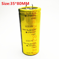 New good quality 100V 15000UF Radial DIP Aluminum Electrolytic Capacitors size 35*80 100V 15000UF Tolerance 20%