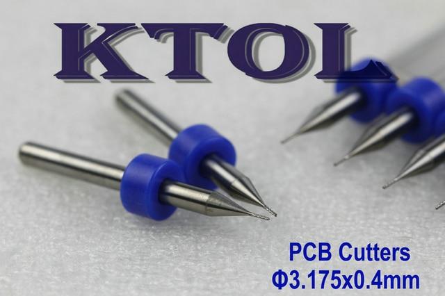 0.4MM CNC Router Engraving Cutter PCB Milling Bits Tools,10 pcs ...